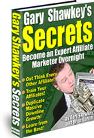 Cover graphic - Gary Shawkey's Secrets