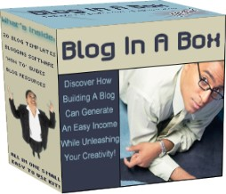 Cover graphic - Blog In A Box