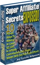 Cover graphic - Super Affiliate Secrets Exposed