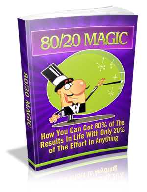 80/20 Magic virtual cover
