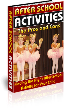 After School Activities - The Pros and Cons eBook cover