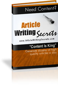 Cover graphic: Article Writing Secrets