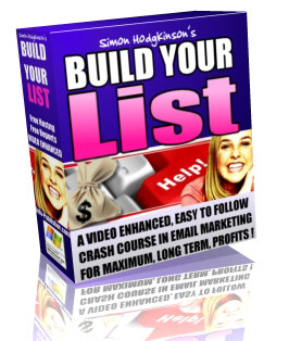 Build Your List cover graphic