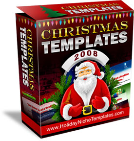 Christmas Templates 2008 virtual box