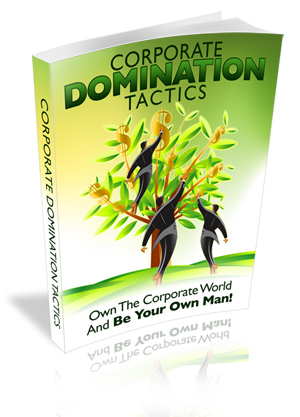 Corporate Domination Tactics virtual cover