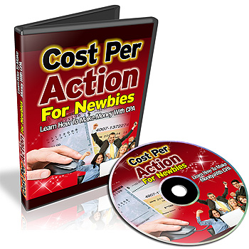 Cost Per Action For Newbies cover graphic