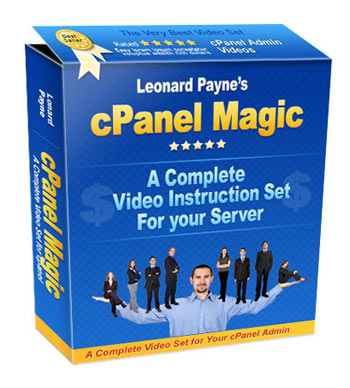cPanel Magic box graphic