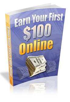 Earn Your First $100 Online virtual cover