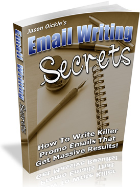 Email Writing Secrets cover graphic