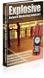 Explosive Network Marketing Jumpstart cover graphic