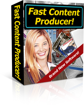 Fast Content Producer box graphic