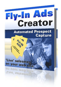 Cover graphic - Fly-In Ads Creator