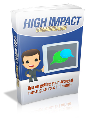High Impact Communication virtual cover