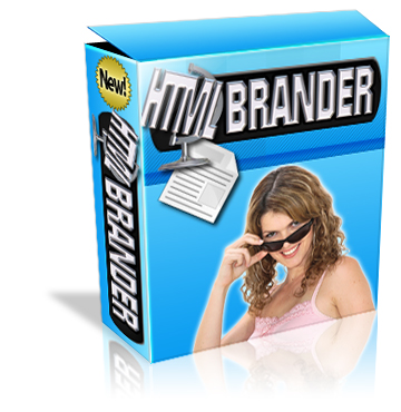 HTML Brander box graphic
