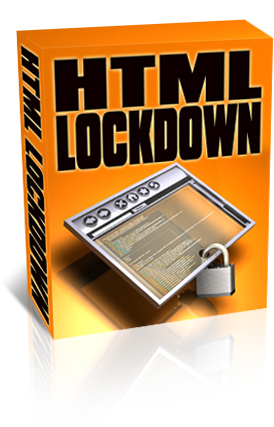 HTML Lockdown box graphic