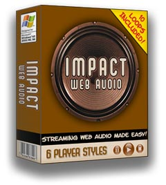 Impact Web Audio Box Graphic