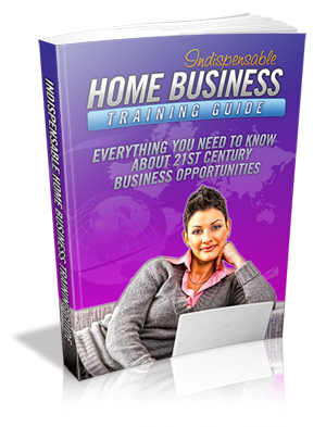 Indispensable Home Business Training Guide virtual cover