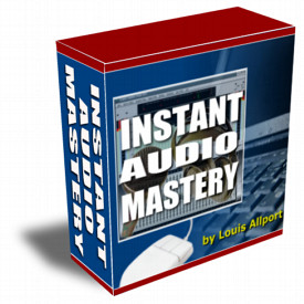 Instant Audio Mastery cover graphic