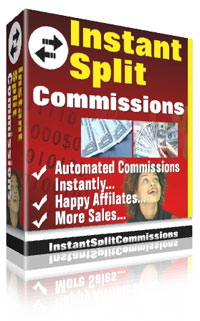 Cover graphic - Instant Split Commissions