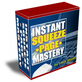 Instant Squeeze Page Mastery cover graphic