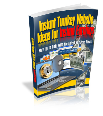 Instant Turnkey Website Ideas For Instant Earnings virtual cover