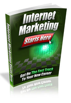 Internet Marketing Starts Here virtual cover