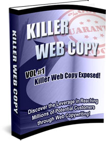 Killer Web Copy volume 1 cover graphic