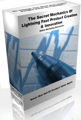 Cover: The Secret Mechanics of Lightning Fast Product Creation and Innovation