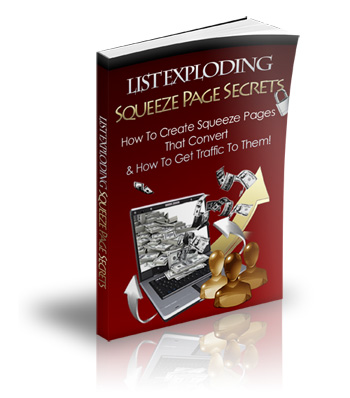 List Exploding Squeeze Page Secrets virtual cover