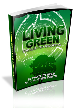 Living Green For A Better Tomorrow virtual cover