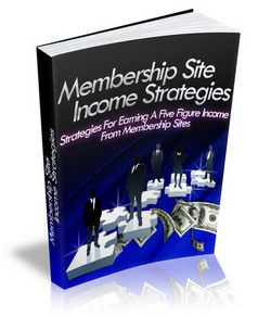 Membership Site Income Strategies virtual cover