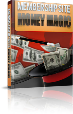 Membership Site Money Magic virtual cover
