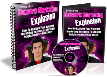 Network Marketing Explosion graphics