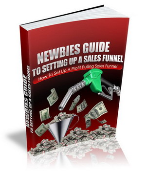 Newbies Guide To Setting Up A Sales Funnel virtual cover
