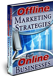 Offline Marketing Strategies For Online Businesses cover graphic
