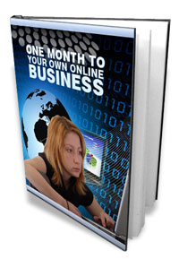 One Month To Your Own Online Business virtual cover