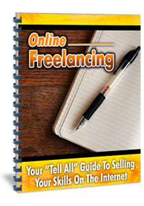 Online Freelancing Report cover graphic
