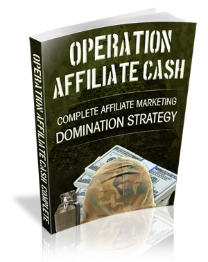 Operation Affiliate Cash virtual cover