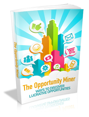 The Opportunity Miner virtual cover