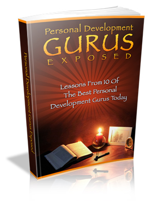 Personal Development Gurus Exposed virtual cover