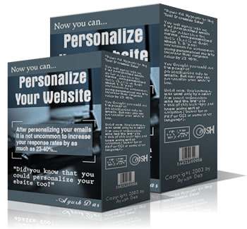 Personalize Your Website cover graphic
