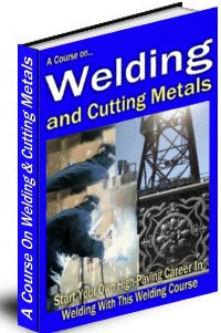 A Course On Welding And Cutting Metals cover graphic