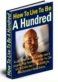 How To Live To Be A Hundred cover graphic
