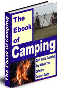 The Ebook Of Camping cover graphic