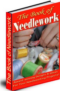 The Book Of Needlework cover graphic