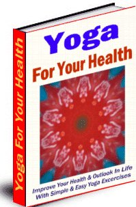 Yoga For Your Health cover graphic