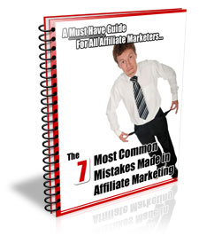 The 7 Most Common Mistakes Made In Affiliate Marketing virtual cover