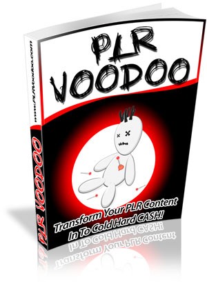 PLR Voodoo cover graphic