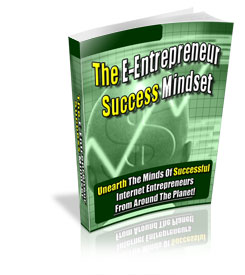The E-Entrepreneur Success Mindset virtual cover