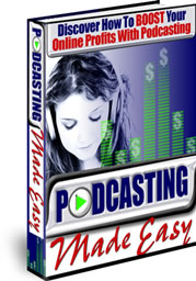 Podcasting Made Easy cover graphic